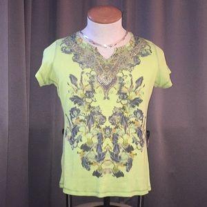 Stunning embellished top